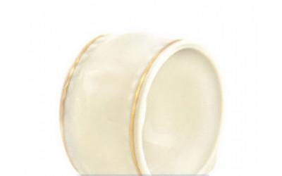 Кольцо для салфеток 07514611-1239 Соната Золотая лента, слоновая кость, Leander