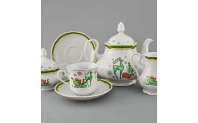 Сервиз чайный 15 предм 03160725-2573 Мэри-Энн Олени, Leander