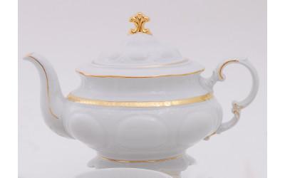 Чайник 1,50л 07120729-1239 Соната Золотая лента, слоновая кость, Leander
