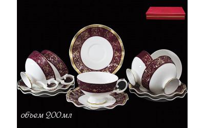 225-003 чайный набор 12предм ВЕЛИКОЛЕПНЫЙ ВЕК