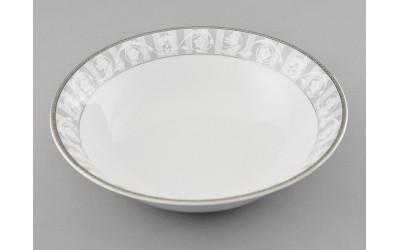 Салатник 23см 02111416-1013 Сабина Серый орнамент, Leander