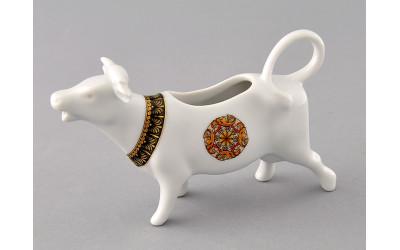 Сливочник-корова 0,07л 21110813-0979 Красная лента, Leander