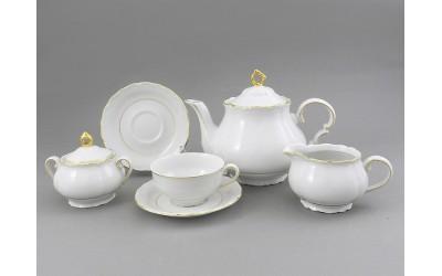 Сервиз чайный 15 предм. 67160725-1139 Соната Отводка золото, Leander