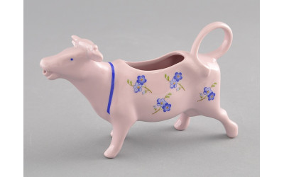 Сливочник - корова 0,07л 21210813-0887 Мэри-Энн Синие цветы, Leander