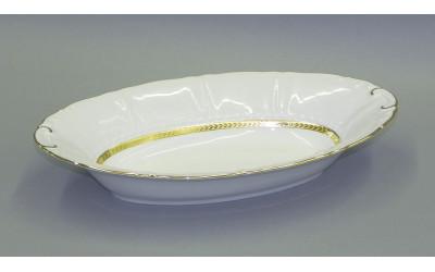 Корзина для хлеба 33,5см 07112816-1239 Соната Золотая лента, слоновая кость, Leander