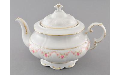 Чайник 1,50л 07120729-0158 Верона, Мелкие цветы, отводка золото, Leander