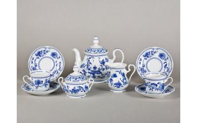 Сервиз чайный 15 предм 03160725-0055 Мэри-Энн Гжель, Leander