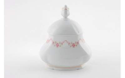 Шкатулка для чай. пакет. 0,65л 03115005-0158 Верона, Мелкие цветы, отводка золото, Leander