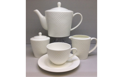 """Сервиз чайный 17 предметов на 6 персон """"Даймонт"""", Japonica"""