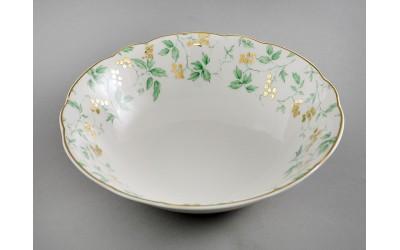 Салатник 23см 03111416-1381 Мэри-Энн Зеленые листья, Leander