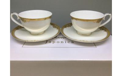 Набор чашек 12 предметов на 6 персон Ампир GD-1653-5, Japonica