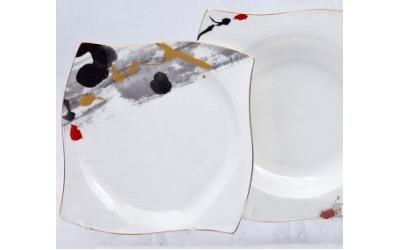 "Набор тарелок 6 персон  18 пр. ""Сахара"", Japonica"