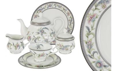 Чайный сервиз 40 предметов на 12 персон Сад цветов
