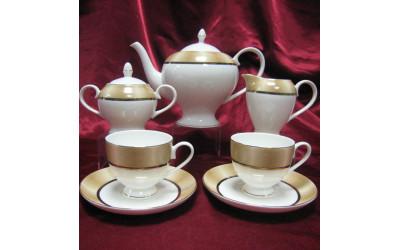 """Сервиз чайный 17 предметов на 6 персон""""Сафари"""" JDSSHT-4, Japonica"""