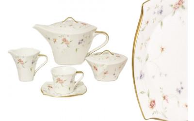 Чайный сервиз 17 предметов на 6 персон Весна
