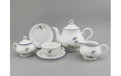 Сервиз чайный 15 предм. 67160725-0807 Гуси, Leander