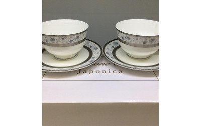 Набор чашек на 6 персон Киото EMPL-8239GY-5, Japonica