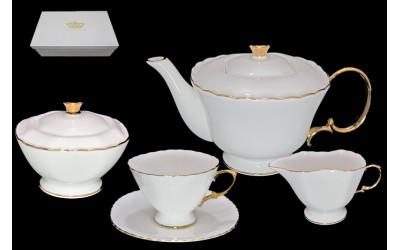 555-002 чайный сервиз 17пр