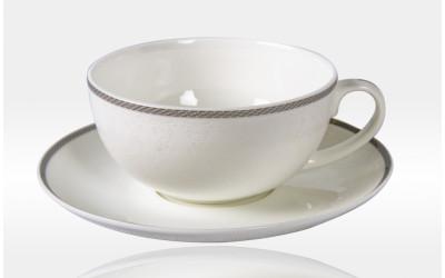 Чашка с блюдцем 350мл.Модерн JD61133-8