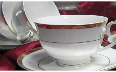 """Набор чашек 12 предметов на 6 персон """"Версаль"""", Japoniсa"""