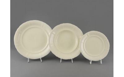 Набор тарелок 18 предм.с тарел.дес. 19см