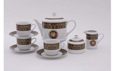 Сервиз чайный 15предм. 02160725-172B Версаче, Leander