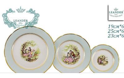 Набор тарелок 18предм. с тар. дес. 19 03160119-231B