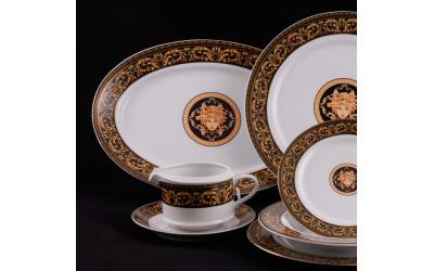 Сервиз столовый 25 предметов Версаче, Leander