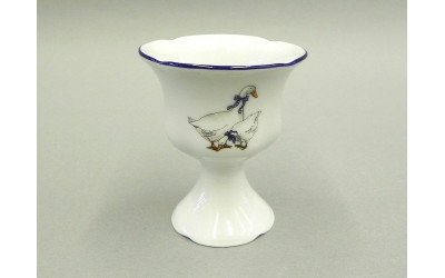 Чашка для яйца на ножке 03112425-0807 Гуси, Leander