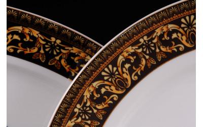 Набор тарелок 18предм.с тарел.дес. 19см 02160129-172B Версаче, Leander