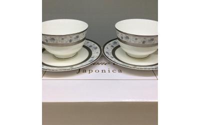 Набор чашек на 2 персоны Киото EMPL-8239GY-3, Japonica