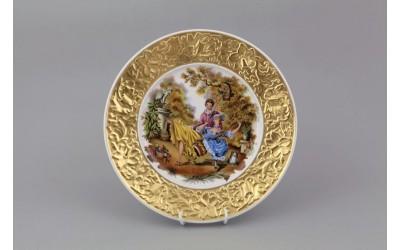 Тарелка декоративная подвесная 21 см 20111144-275A