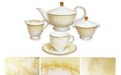 Чайный сервиз 17 предметов на 6 персон Версаль