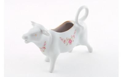 Сливочник-корова 0,07л 21110813-0158 Верона, Мелкие цветы, отводка золото, Leander
