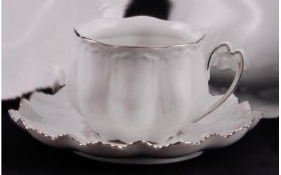 Набор чашек с блюдцем 0,2л 2шт 62120415-2215k