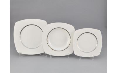Набор тарелок 18 предм. 69160119-0011 Отводка платина, Leander