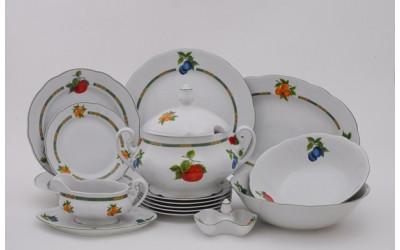 Сервиз столовый 25 предм. 03162011-080H Мэри-Энн Фруктовый сад, Leander