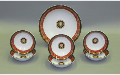 Набор салатников 7 предм. 02161416-B979 Красная лента Версаче, Leander