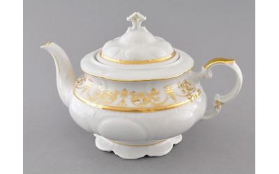 Чайник 1,50л 07120729-1373 Соната Золотой орнамент, отводка золото, Leander