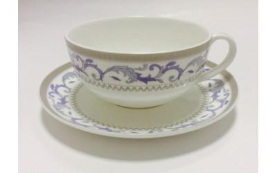 """JD150124-8 Чашка с блюдцем 350мл  """"Наоми"""" JD150124-8"""