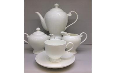 """Сервиз чайный 17 предметов на 6 персон""""Ажур"""" JDWX092-4, Japonica"""