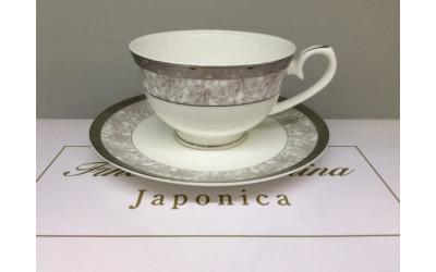 Набор чайных пар на 6 перс. Серебрян EMPL-1242WH-5