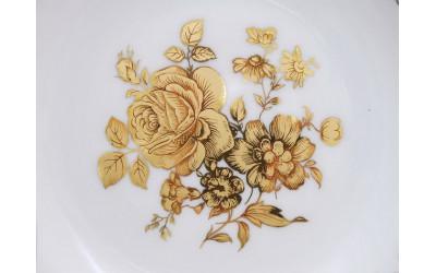 Кофейник 0,80л 03120717-0431 Мэри-Энн Мэри-Энн Золотая роза, кобальтовый борт, Leander