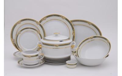 Сервиз столовый 25 предм. 02162021-0711 Золотые фрукты, Leander