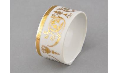 Кольцо для салфеток 02114611-1373 Соната Золотой орнамент, отводка золото, Leander