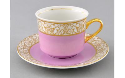 Чашка высокая с блюдцем 0,20л 02120415-234G