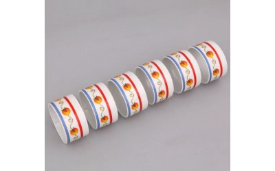 Набор колец для салфеток 6шт 02164611-2410