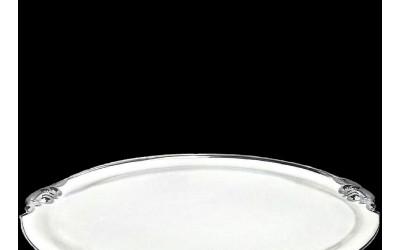 Поднос круглый с ручк. 52см 20111657-2603L
