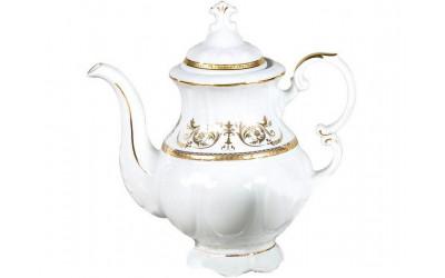 Кофейник мокко 1,15л 07120718-1373 Соната Золотой орнамент, отводка золото, Leander
