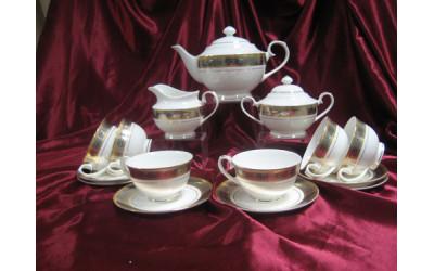 """Сервиз чайный 17 предметов на 6 персон """"Дживанши"""", Japonica"""